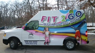 MSCR's new Fit 2 Go Van