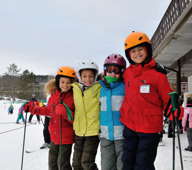 MSCR children skiing image