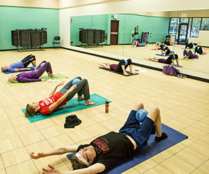 fitness class at MSCR East