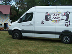Art Cart Van